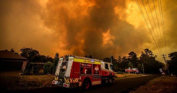 bushfires Australia update