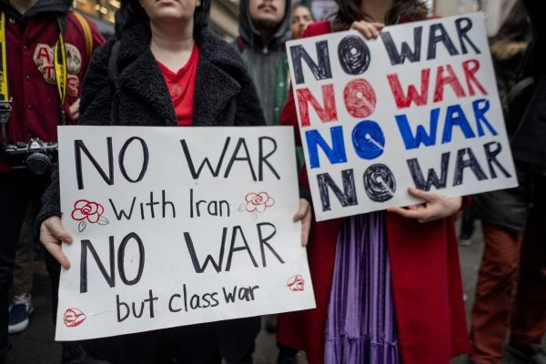 Anti-War Protest In New York