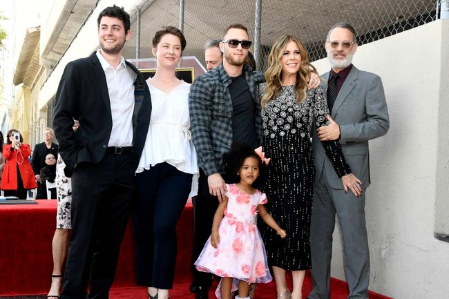 tom hanks family
