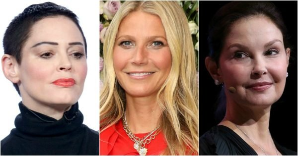 Rose McGowan, Gwyneth Paltrow and Ashley Judd are just three of Weinstein's accusers. Image: Getty.
