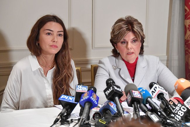 Gloria Allred Holds Press Conference With New Alleged Victim Of Harvey Weinstein