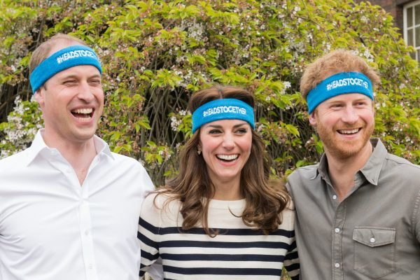 The Duke And Duchess Of Cambridge And Prince Harry Spearhead A New Campaign Called Heads Together To End Stigma Around Mental Health.
