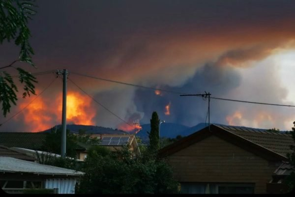 CANBERRA-FIRE