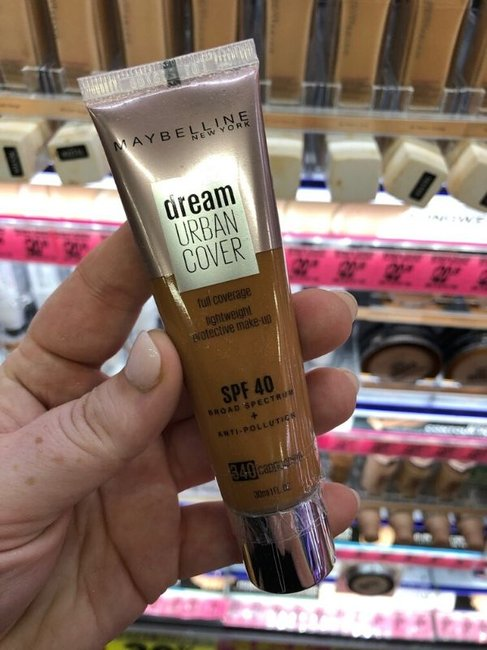 Maybelline Dream Urban Cover Liquid Foundation