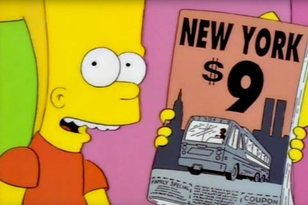 Simpsons predict future