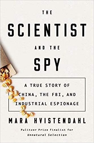 "The Scientist and the Spy has been called ""a non-fiction thriller"". Image: Amazon."