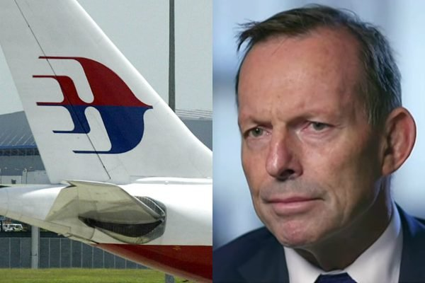 MH370 vanished from the sky in 2014. Now Tony Abbott says it was 'mass murder-suicide'.