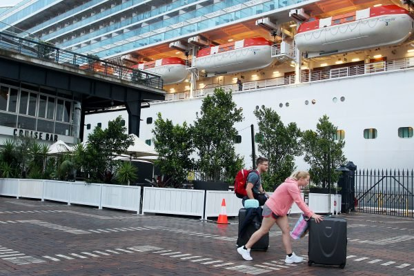 Cruise Ships Continue To Arrive In Sydney Despite Coronavirus Fears
