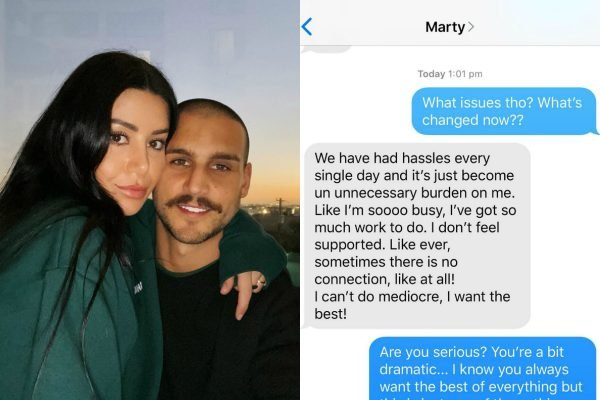 MAFS' Martha and Michael shared some suss 'breakup texts' and we have precisely 6 questions for them.
