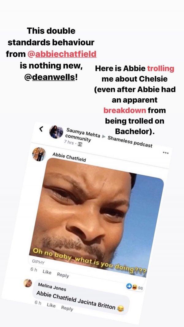 Abbie Chatfield Dean Wells