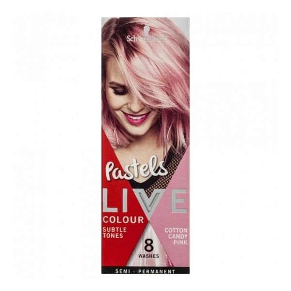 how to dye hair pink