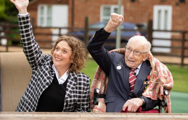 Tom Moore, Military Veteran Who Raised Funds For NHS, Celebrates 100th Birthday