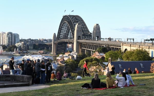 Sydneysiders Adjust To Life As Coronavirus Restrictions Ease In New South Wales