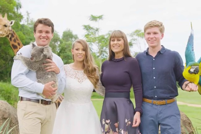 bindi irwin wedding video