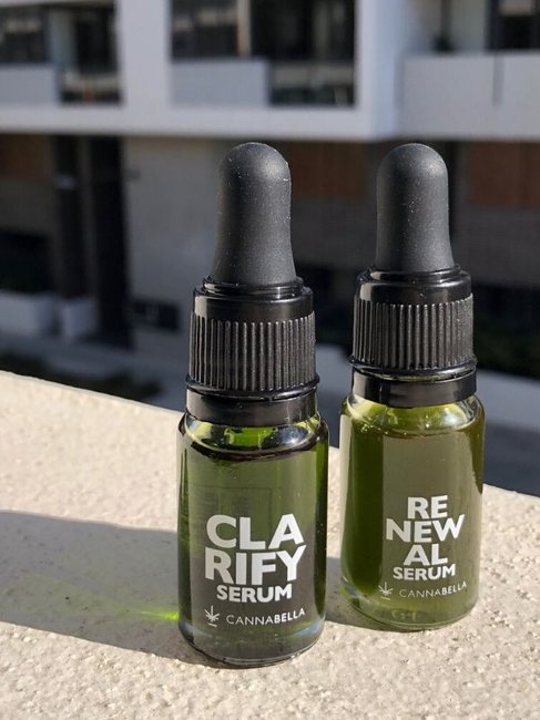Cannabella Renewal Serum and Clarify Serum